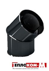 Дымоход Lokki сэндвич-отвод эмалированный 90, 0,5 мм/0,5 мм, диаметр 120*200 мм