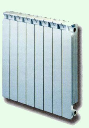 Биметаллический радиатор Global STYLE 500 (10 секций)