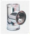 Тройник с заглушкой для газохода серии TTDP90 Bofill