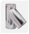 Тройник с заглушкой для дымохода серии TTDP45 Bofill