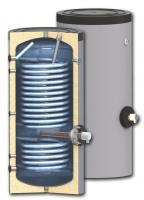 Бойлеры косвенного нагрева SUNSYSTEM SWP2 N (вертикальные, напольные, с возможностью установки ТЭНа, с двумя увеличенными теплообменниками)