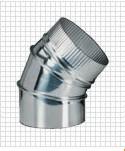 Отвод газохода серия CI 45 Bofill
