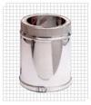 Труба с глушителем для газохода 1000 мм серии SILDP Bofill