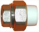 Муфта комбинированная разъемная с внутренней резьбой